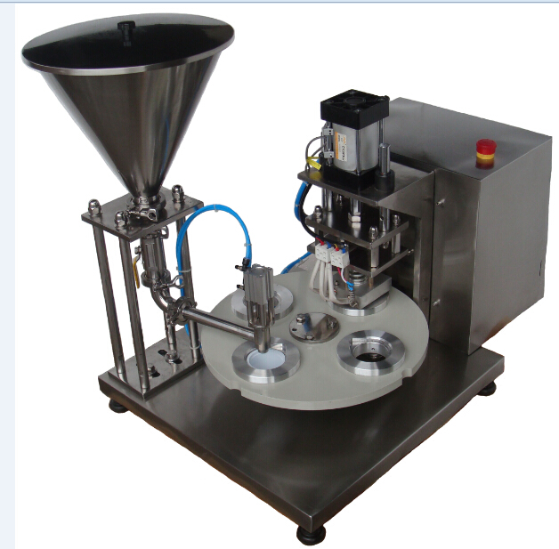 CA-1 Semi Automatic Coffee Capsule Filling and Sealing Machine