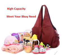 2016 Quality fashion large capacity baby mother bag, new design mommy bag
