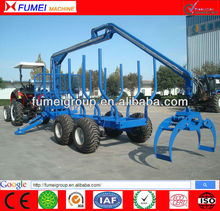 CE Log Loader Trailer with Crane for ATV