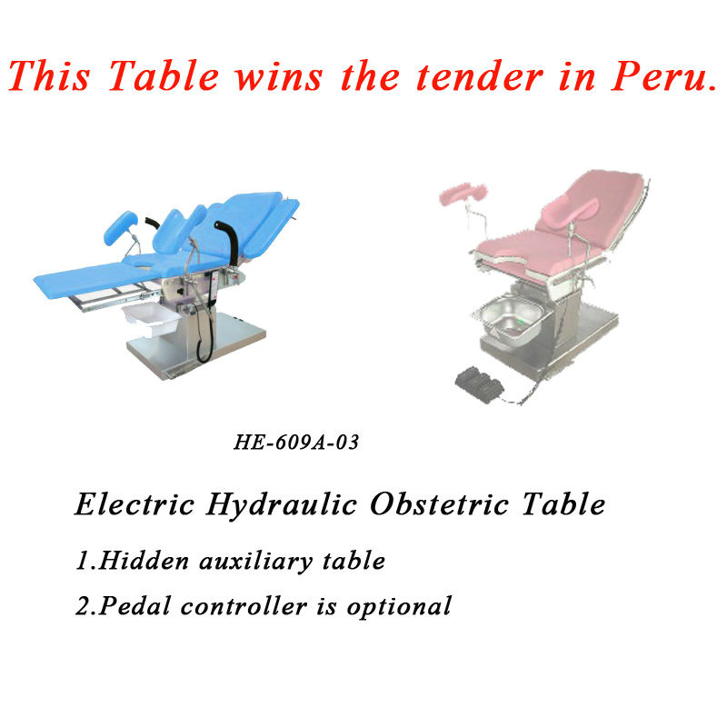 Electric Hydraulic Surgical Chair Manufacturer/Gynecological Diagnosing Table