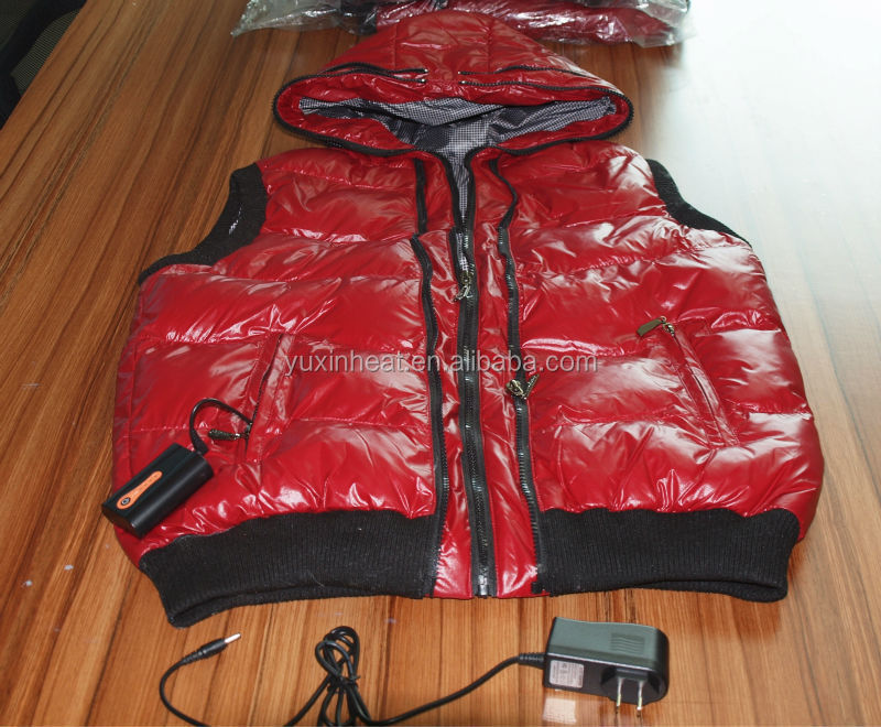 Battery Ladies Heating Down Vest Made In China(Export)