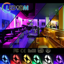 5M 300leds Super Bright 5050 SMD 60led/m 12V LED Strip DIY Household Lights For Stairs