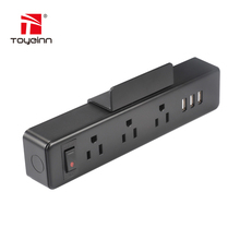 Fast USB Electric Socket 12V 1A Electric Extension Socket/3 Outlet USA Power Strip