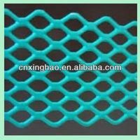 plastic coated expanded metal