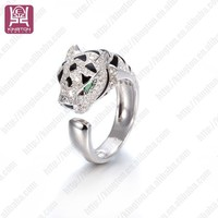 925 italian silver panther ring turkish silver jewelry istanbul grand bazaar rings