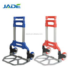Outdoor Hand push food cart for sale platform hand truck trolley luggage with two wheels