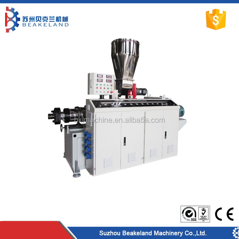 Hot sale ISO certificate filament pvc pipe extruder