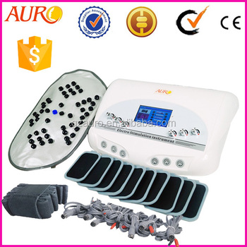 Portable EMS machine, electro muscle stimulator infrared EMS slimming machine Au-6804B