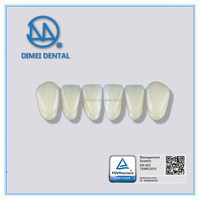 Popular dental materials composit resin teeth with low price,composite denture teeth