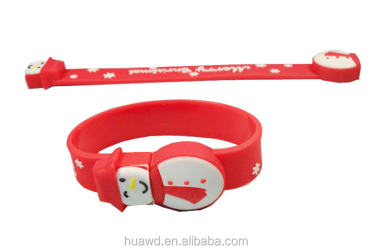 wristband usb China manufacturer , cheap usb flash drive bracelets , leather wristband usb with OEM logo