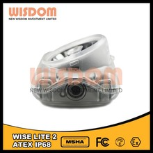 Wisdom WISE LITE2 More secure mining safety cap lamp MSHA miner cap lamp
