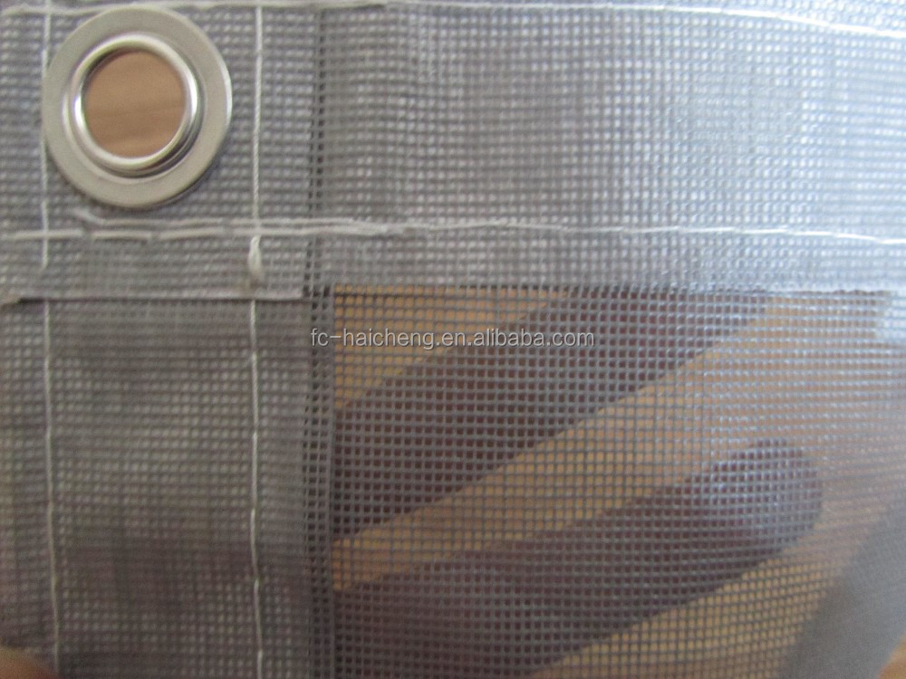 fire retardant mesh PVC net for building security fense