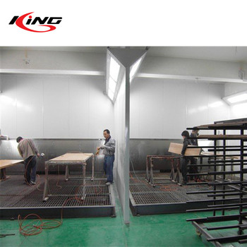 CE water curtain spray paint drying cabin