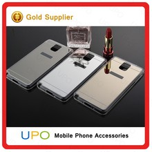 [UPO] Luxury Acrylic Back Cover Mirror TPU Cell Phone Case for Samsung Galaxy Note 5