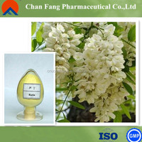 Pure Natural Sophora japonica flower extract Rutoside Rutin vitamin