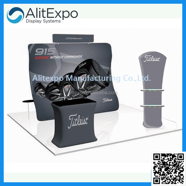 Modern portable high quality 10x10 10x20 exhibition booth support design