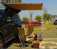 outdoor car side awning canopy trailer tent 2.5x2.5m