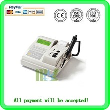 Coagulometer analyzer MSLBA13W-2015 cheap practical portable coagulation equipment