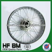 "WAVE125 1.6*17"" #10 spoke front wheel rim motorcycle with steel material,top quality,different sizes"