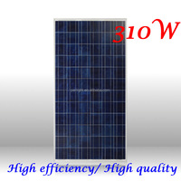 2016 hight efficiency 36v 310w poly pv solar panel pv solar module 310w