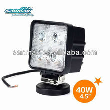 40w energy saving lamp for truck,heavy duty vehicles,SM6401 led auto work light