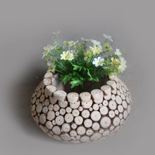 Handmade fir wooden flower pot,wooden flower pot wholesale,Wooden Garden Flower pot Stand