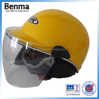 four size motorcycle open face helmets for female with ABS materials