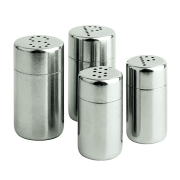 LTZ052 Stainless steel salt and pepper shakers