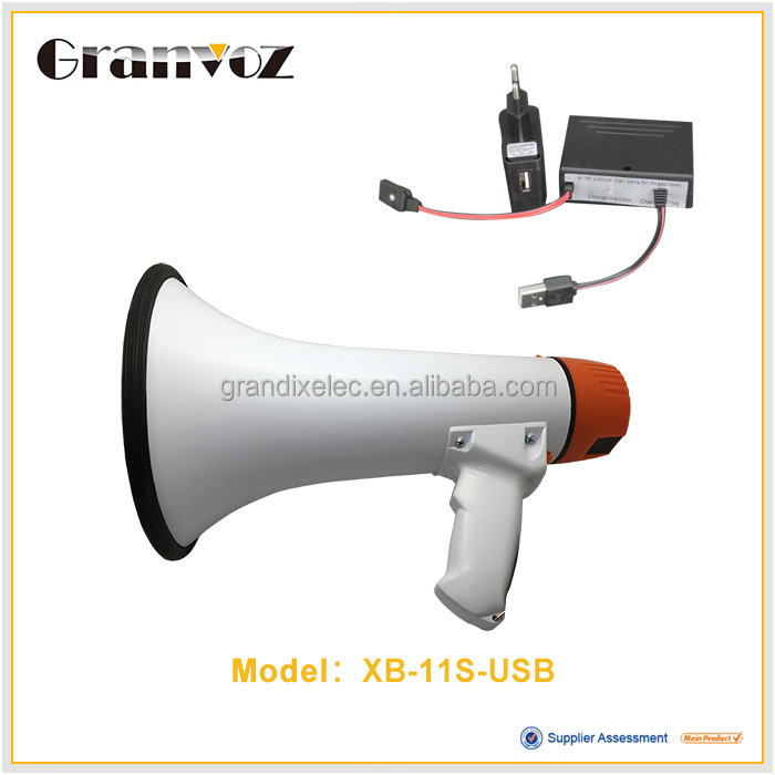 25W Type Active player and portable audio Bigger size megaphone