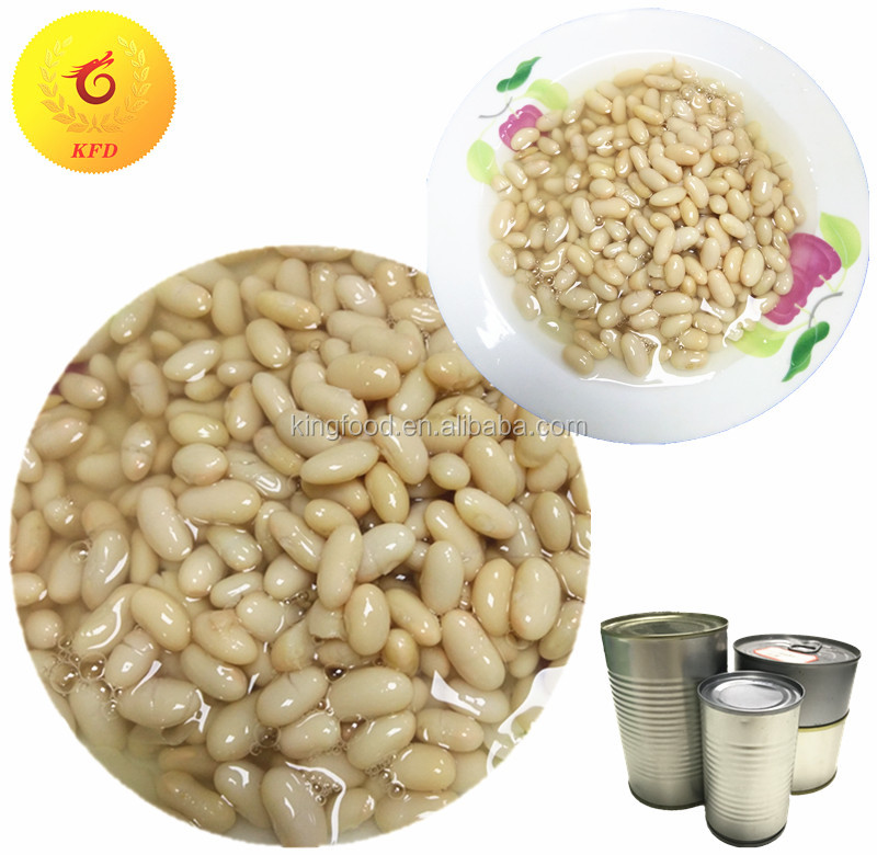 canned style beans canned white kidney beans in brine salty canned food