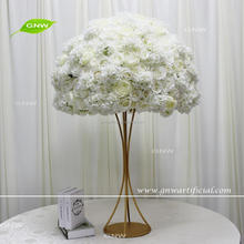 GNW CTRA-1705004 white large indian flower ball tall wedding centerpieces