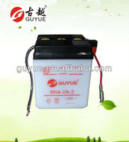 6V 4Ah Motorcycle Battery/The Storage Battery OEM with Yuasa