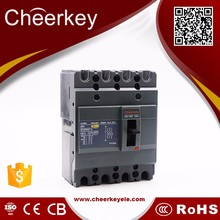 EZC100N 100A 4P circuit breaker molded case thermal magnetic mccb earth leakage