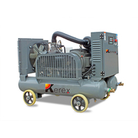 JA30B 30kw 4.8m3 8 bar small silent portable screw electric screw air compressors manufacturer