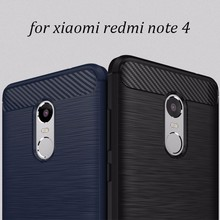 For Redmi note 4 case, Top selling carbon fiber tpu phone case for Xiaomi Phones