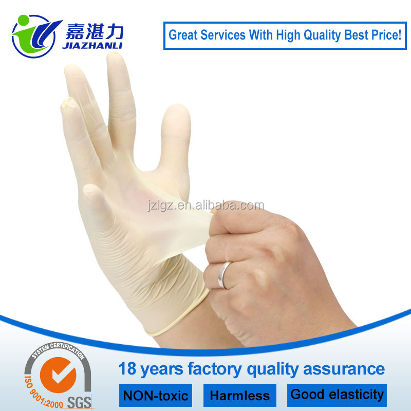 non sterile powdered latex examination gloves malaysia factory