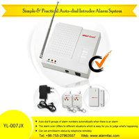 Low Price Intruder Phone Line Alarm System With Phone Call (YL-007JX)