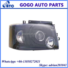 For Toyota Hiace 2005 - 2008 Black Head Lamp Head Light