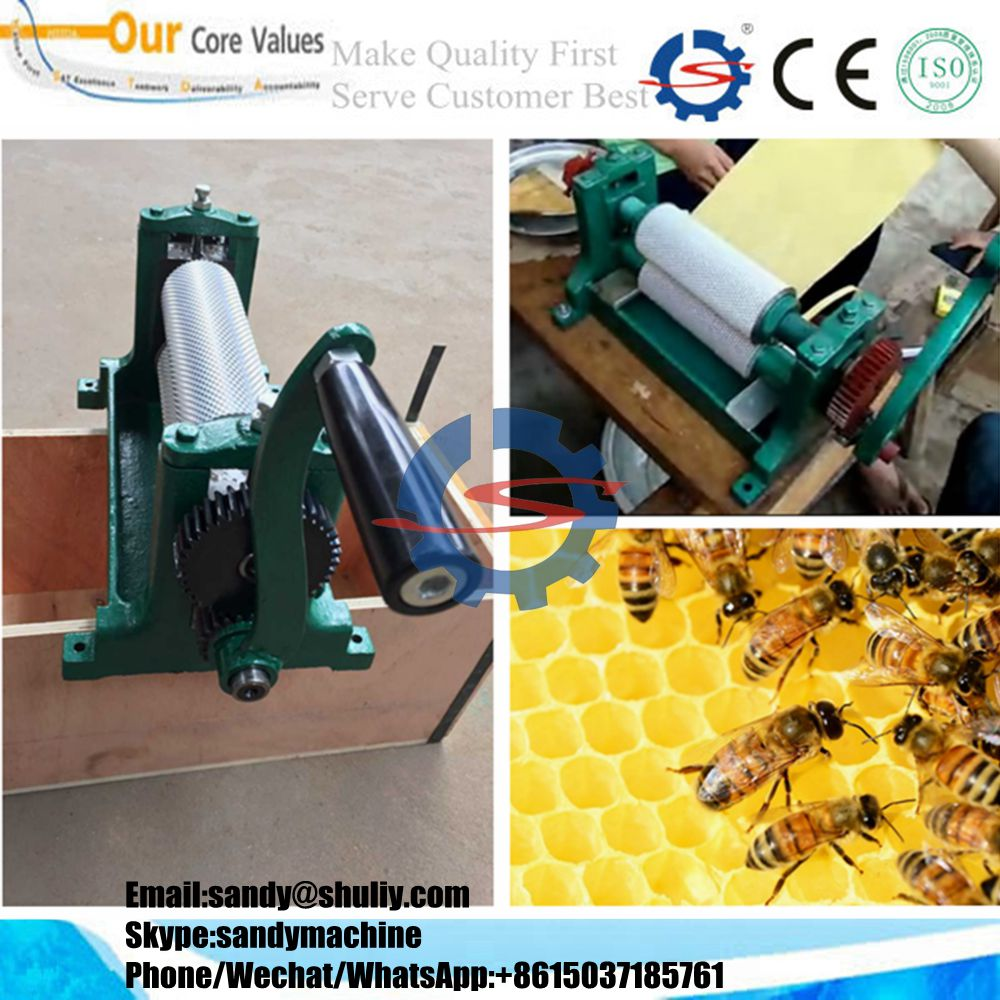 aluminum alloy full automatic beeswax foundation machine