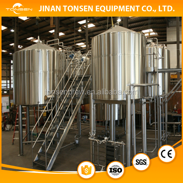 commercial fermentation system/beer brewing equipment/brewery plant 3000L