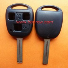 High Quality Lexus key shell 3 button remote key blank with TOY48 blade (short blade-37mm), car key shell/key case/key cover