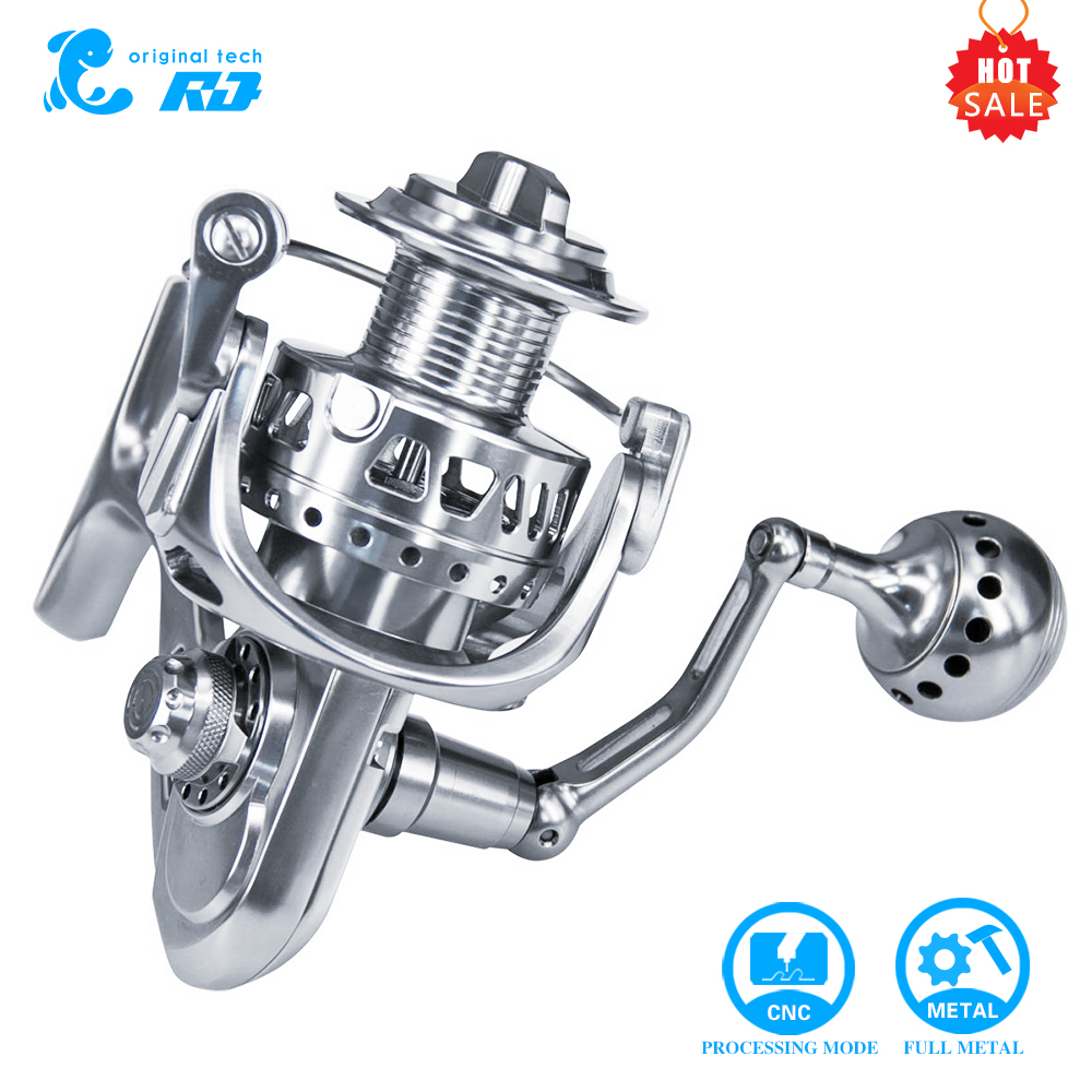 New Factory Product High Quality Full Metal CNC Spinning Fishing Reel 5000 11+1bb Made In China