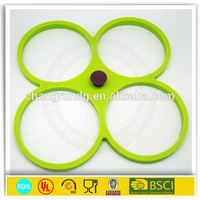 wholesale multifunctional OEM/ODM accepted silicone fried egg ring/mold