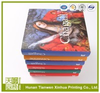 2015 cheap gloss art paper offset printers