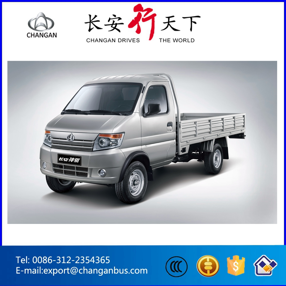 1-1.5T Single/Double Cabin Mini Truck Small Pickup 5MT LHD Changan Q20 with 1.5L mitsubishi engine
