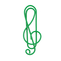 Custom musical note shape paper clip