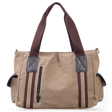 Fashion Waxed Canvas Handbag