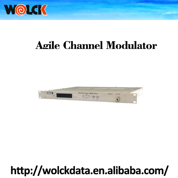 Professional RF Modulator Agile Channel