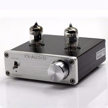 FX-AUDIO Feixiang TUBE-01 DC12V 1A Bile Preamp 6J1 Tube Amplifier HIFI Audio Preamplifier