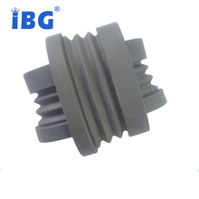 black silicone/EPDM soft flexible corrugated pipe rubber bellows